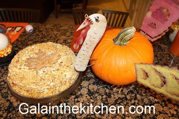 Russian cake For Thanksgiving Dinner Photo