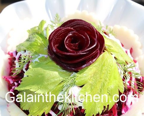 Flower from Beets