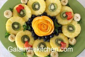 Photo Garnish from Orange Flower Photo