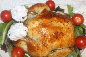 Photo Baked Chicken