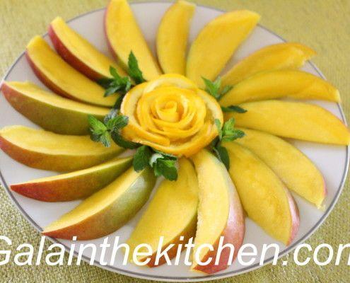 Mango Plate Decor Photo