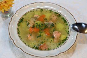 Russian Fish Soup Ycha Recipe Photo