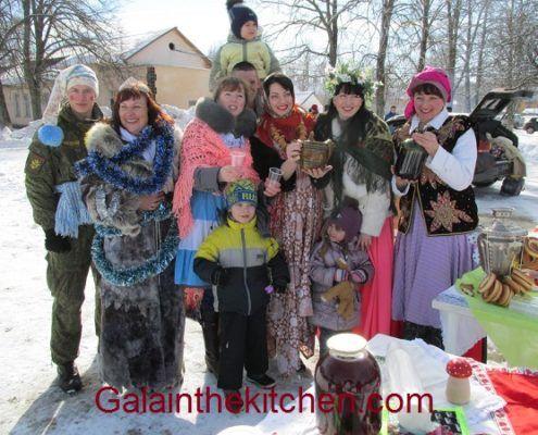 Russian Maslenitsa Carnival Holiday 2016 Winter Photo