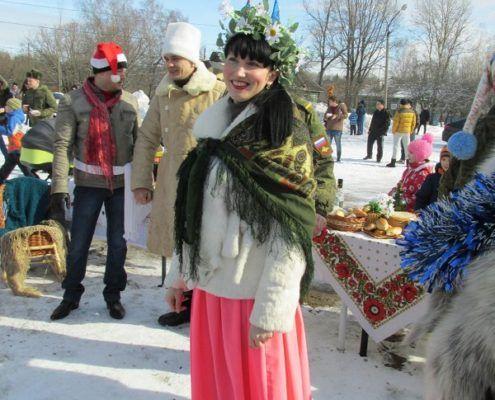 Russian Winter Holiday Maslenitza Carnival 2016 Photo