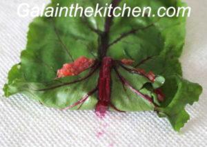 Photo Russian stuffed beet leaves recipe step 4