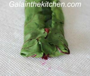 Photo Russian stuffed beet leaves recipe step 5
