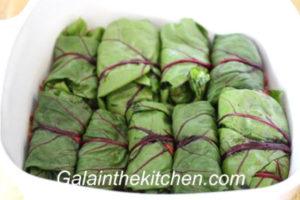 Photo Russian stuffed beet leaves recipe step 6