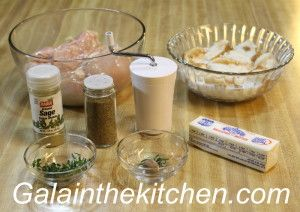 Steamed Chicken Patties