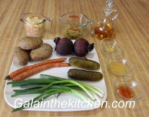 Russian Salad Vinaigrtte Photo