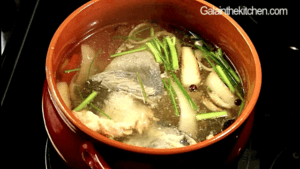 Fish Stock Preparation