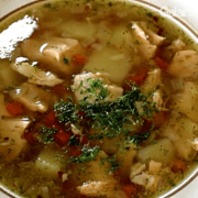 Russian Fish Soup with Salmon Photo