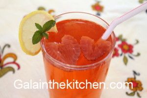 Russian Strawberry Kompot Photo