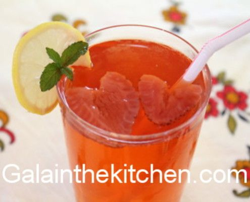 Photo Russian Strawberry Kompot Photo