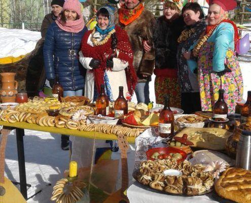 Winter Russian Holiday Maslenitsa 2017 Photo