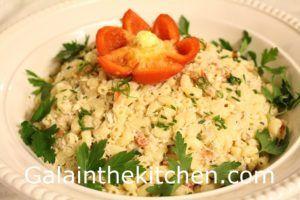 Gala's Crab Pasta Salad Recipe