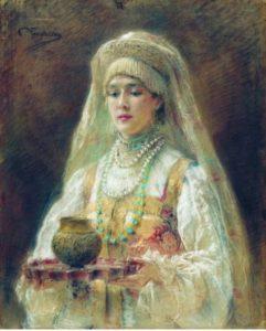 Photo Konstantin Makovsky's Painting 1880