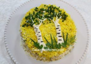 Photo Russian Potato Salad Olivier