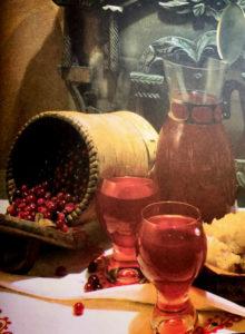 Photo Russian beverage Mors