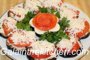 Russian eggplant appetizer Photo