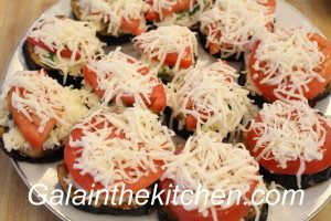 Photo Russian Eggplant Appetizer