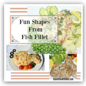 Photo Fun fish fillet shapes two