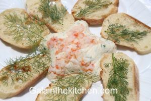 Shrimp Butter with Toast Photo
