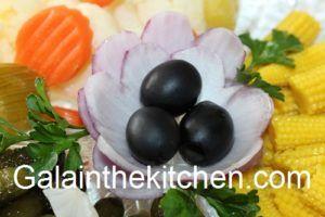 Olives for garnish