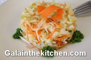 How to shred cabbage for salad