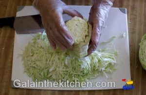 Photo how to Shred Cabbage 5