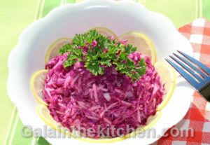 Photo Russian Red Cabbage Salad