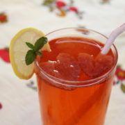 Photo. Russian Beverage Strawberry Kompot