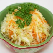 Photo Salad from Cooked Cabbage