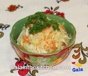 Photo Russian Stir-fry Cabbage Salad Recipe