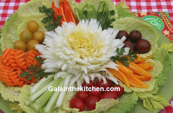 easy food garnishing ideas with many photos and videos