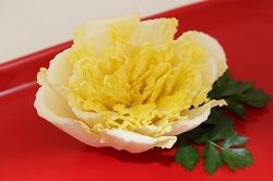1 Photo of Flower from Chinese Cabbage Napa