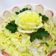 Photo 1 Salad from Cabbage Napa and Crab Meat Imitation