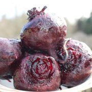 Photo Roasted beets in the oven