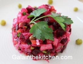 Russian Glossary Salad Vinegret Photo