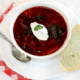 Vegetarian borscht recipe Photo