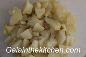 Beet Salad Russian Recipe Photo Potato