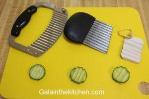 Handmade Wavy Garnish Tool Photo
