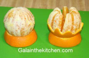 How to Garnish Orange Photo