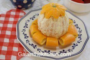 Photo How to serve orange like a flower Photo