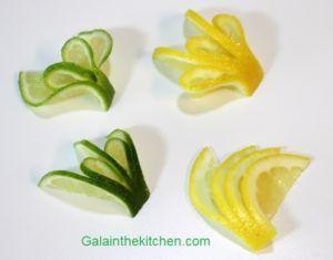 Lemon Garnishes Photo