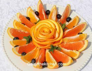 Orange Garnish Ideas. Photo
