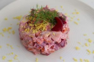 Russian Beet Salad Vinegrete Photo