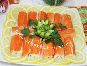 13 Easy Cucumber Garnish Ideas With Many Photos And Videos Gala In
