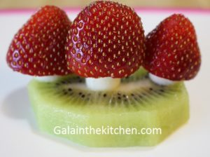 Kids Desserts Strawberry Garnish Photo