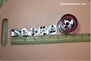 Photo Linzen Cookie Cutter Size