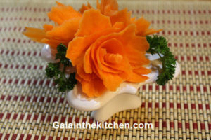 Photo Carrot frower made with Joae curler